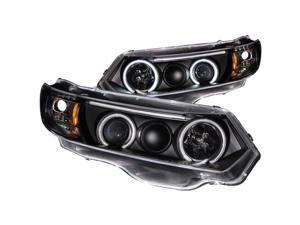 Anzo USA 121062 Headlight Assembly; Projector w/Halo CIVIC CIVIC (Canadian)