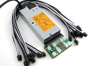 1850 Watt Power Supply for Innosilicon A6 LTCMaster ASIC Miner PSU 110 240V