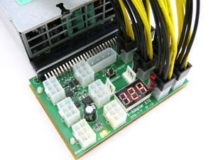HP 80+ Platinum 94% Efficiency 2400 1800 Watt Chain Sync 110 240V Bitmain Antminer S9 S7 Power Supply ASIC Miner PSU