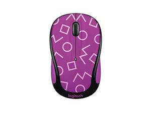 Logitech Play Collection M325C Wireless Mouse Geo Purple With Receiver