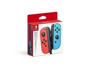 Joy-Con Controller Pair Neon Red/neon Blue For Nintendo Switch