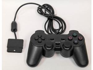 Wired Replacement Controller For Playstation PS1 PS2 Black by Mars Devices
