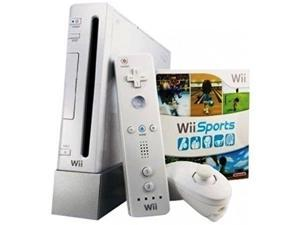 Wii With Wii Sports & Resort White