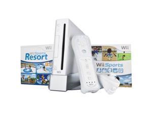 Wii Bundle With Wii Sports & Wii Sports Resort White