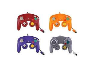 Lot Of 4 Orange Purple Red Silver Controllers For GC Wii Wii U Switch For GameCube