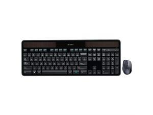 Logitech MK750 Wireless Solar Keyboard And Wireless Marathon Mouse Combo For PC