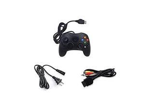 Original Xbox Controller AC Adapter AV Cable Bundle