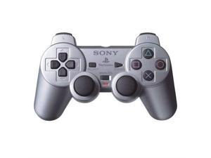 Sony OEM PS2 Dualshock 2 Controller Satin Silver For PlayStation 2