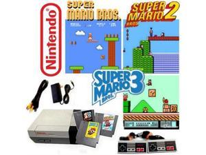 Nintendo NES Game System With Super Mario Bros 1 2 And 3