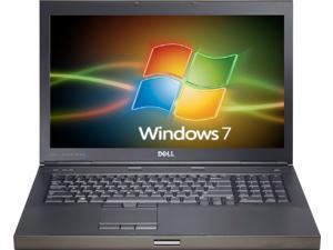 Dell m6500 precision work station laptop-i5 m560 2.67ghz-8gb ram-320ghz  hard drive-windows 7 pro 64bit-display 1440x900-Ati fire pro m7820 graphics-dvdrw-good battery