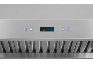 """XtremeAir Pro-X Series PX11-U30 30"""" Under Cabinet Ducted Range Hood With 900 CFM  Internal Blower  Four-Speed Touch Sensitive Electronic LCD Control With Small LCD  In Stainless Steel"""
