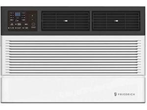 """Friedrich CCW06B10A 20"""" Chill Premier Smart Room Air Conditioner with BTU Cooling Capacity, Auto Restart, Washable Antimicrobial Air Filter and 3 Speeds in White (6000 BTU)"""