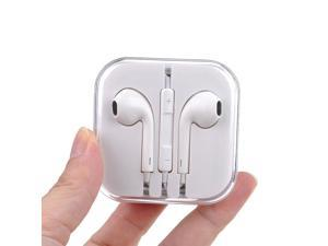 New Apple Earpods Earbuds Earphones Headphone Headset with Mic and Remote for Apple iPad3/2/1 iPhone 6 / 6Plus / 5 / 5S /4S Ipod Touch 5 Ipod 5th Ipod Nano7, White