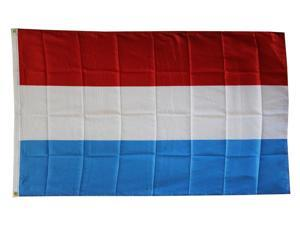 Luxembourg - 3'X5' Polyester Flag