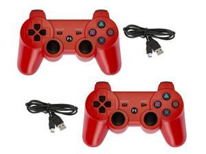 GAME-O Wireless Bluetooth Controllers for Sony PS3 - 2pk