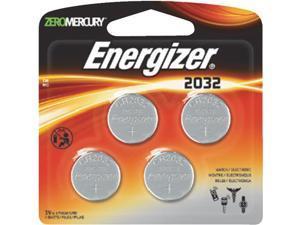 Energizer 3V Lithium 4Pk Battery 2032BP-4 Unit: CARD