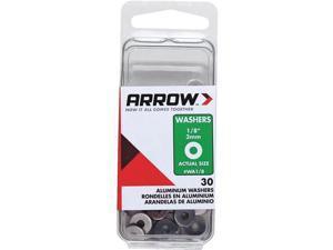 Arrow 1/8 In. Aluminum Rivet Washer (30-Pack) WA1/8