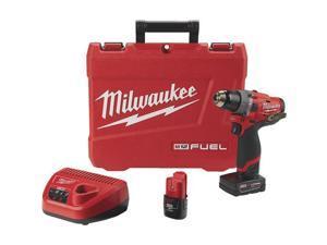 Milwaukee Elec.Tool M12 Hamrdrl/Driver Kit 2504-22 Unit: EACH