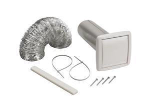 Wall Vent Kit,Flexible Duct,5 ft. L BROAN WVK2A