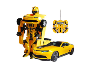 High Quality Rechargable Transformers Bumblebee Robot Remote Control Car Vehicle Toy Gift