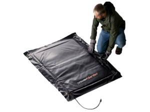 Concrete Curing - Powerblanket MD0304 Electric Concrete Curing Blanket - 3' x 4' - Heated Solution for Pouring Concrete in under 40 °F Temperatures - OEM