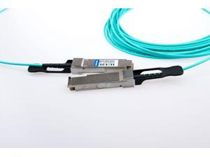 Avago Compatible AFBR-7QER02Z 40G QSFP 2m Active Optical Cable to QSFP AOC