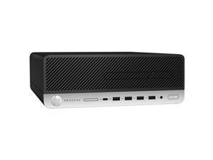 HP Prodesk 600 G3 SFF Desktop - Intel Core i3 (i3-6100) 3.7GHz CPU - 8GB DDR4 RAM - 128GB SSD - DVD-R - Windows 10 Pro 64-Bit - Keyboard/Mouse Included