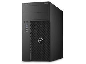 Dell Precision 3620 Mid-Tower Workstation PC - Intel Xeon (E3-1270v5) 3.6GHz Quad Core - 512GB SSD - 16GB RAM - Windows 10 Pro - USB Keyboard/Mouse Included