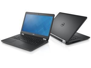 "Dell Latitude E5470 14"" Notebook PC - Core i7 (6600U) 2.6GHz Dual Core - 256GB HDD - 8GB RAM - WiFi - Bluetooth - Windows 10 Pro - AC Adapter Included"