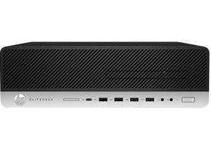 HP 800 G5 Desktop PC - Core i5 (9600) 3.1GHz Six-Core CPU - 256GB SSD - 16GB RAM - DVD - Windows 10 Pro - USB KB/Mouse Include