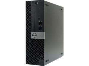 Dell OptiPlex 5050 Small Form Factor SFF Desktop PC - Intel Core i7-7700 3.6GHz - 16 GB DDR4 RAM - 128GB SSD - Windows 10 Pro - HDMI - USB Keyboard/Mouse Included