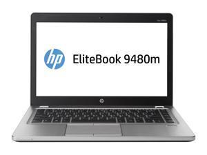 "HP EliteBook Folio 9480M 14"" Ultrabook - Intel Core i5 (4310U) 2.0GHz Dual Core - 256GB SSD - 8GB RAM - Windows 10 Pro Installed"