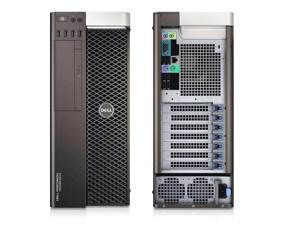Dell Precision 5810 Mid Tower Workstation - Intel Xeon E5 (1620V3) 3.5GHz Quad Core - 256GB SSD - 32GB RAM - DVDRW - AMD FirePro V5800 Video Card - Windows 10 Pro Installed - KB/mouse Included