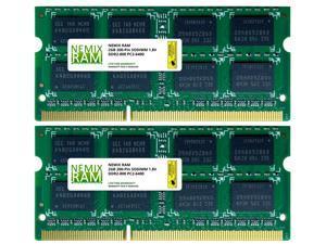 4GB (2x2GB) DDR2 800 (PC2 6400) SODIMM Laptop Memory RAM