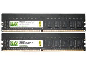 32GB Kit 2x16GB DDR4-3200 PC4-25600 ECC UDIMM 2Rx8 Memory for Server/Workstation by NEMIX RAM