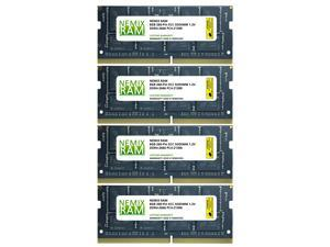 32GB Kit 4x8GB DDR4-2666 PC4-21300 ECC SODIMM 2Rx8 Memory by NEMIX RAM