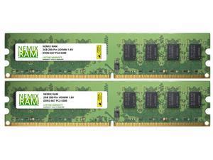 4GB (2x2GB) DDR2 667 (PC2 5300) Desktop Memory Module
