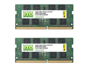 64GB 2x32GB iMac w/Retina 4K display 21.5-inch Early 2019 19,2 by Nemix Ram