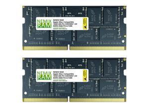 "32GB (2x16GB) DDR4-2666MHz PC4-21300 SO-DIMM Memory for Apple 27"" iMac with Retina 5K Display Mid 2020 (iMac 20,1 iMac 20,2) by NEMIX RAM"