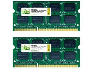 NEMIX RAM 8GB 2X4GB DDR3L-1600 Memory for Apple MacBook Pro 2012 9,1 9,2