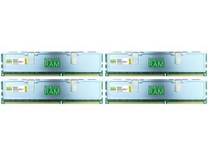 NEMIX RAM SILVERLINE 32GB (4x8GB) DDR4 2400 PC4-19200 PC GAMING MEMORY