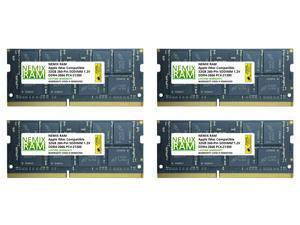 "128GB (4x32GB) DDR4-2666MHz PC4-21300 SO-DIMM Memory for Apple 27"" iMac with Retina 5K Display Mid 2020 (iMac 20,1 iMac 20,2) by NEMIX RAM"