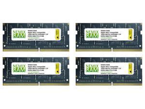 "64GB (4x16GB) DDR4-2666MHz PC4-21300 SO-DIMM Memory for Apple 27"" iMac with Retina 5K Display Mid 2020 (iMac 20,1 iMac 20,2) by NEMIX RAM"