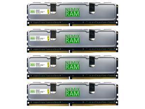 Nemix Ram Silverline 64GB (4x16GB) DDR4 2666 PC4-21300 PC Gaming Memory