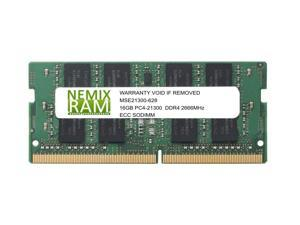 NEMIX RAM 16GB DDR4-2666 2Rx8 VLP ECC UDIMM for Intel R1208SPOSHORR
