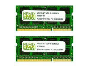 NEMIX RAM 8GB 2X4GB DDR3 Memory for Apple MacBook 2008 2009 2010
