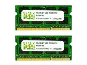 NEMIX RAM 8GB 2X4GB DDR3 Memory for Apple MacBook 2008 2009 2010