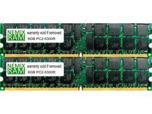 4x8GB PC2-5300P DDR2 ECC Reg Server Memory RDIMM RAM for Dell M905 32GB