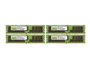 NEMIX RAM 64GB 4x16GB DDR4-2666 PC4-21300 2Rx8 ECC Registered Memory