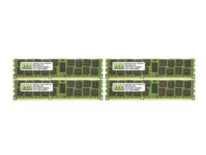 NEMIX RAM 64GB 4x16GB DDR3-1866 PC3-14900 2Rx4 ECC Registered Memory